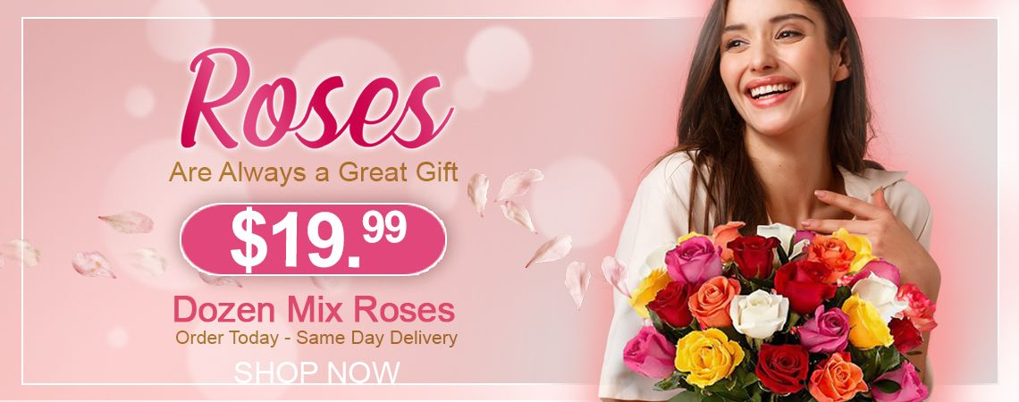 Flowers and roses on super sale